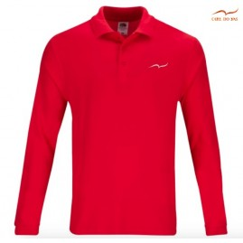 Red Polo man in cotton...