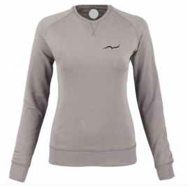 Women's gray sweatshirt...