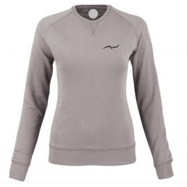 Women's gray sweatshirt...