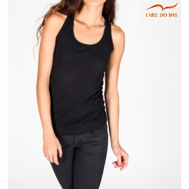 Black tank top by CARL DO NAS