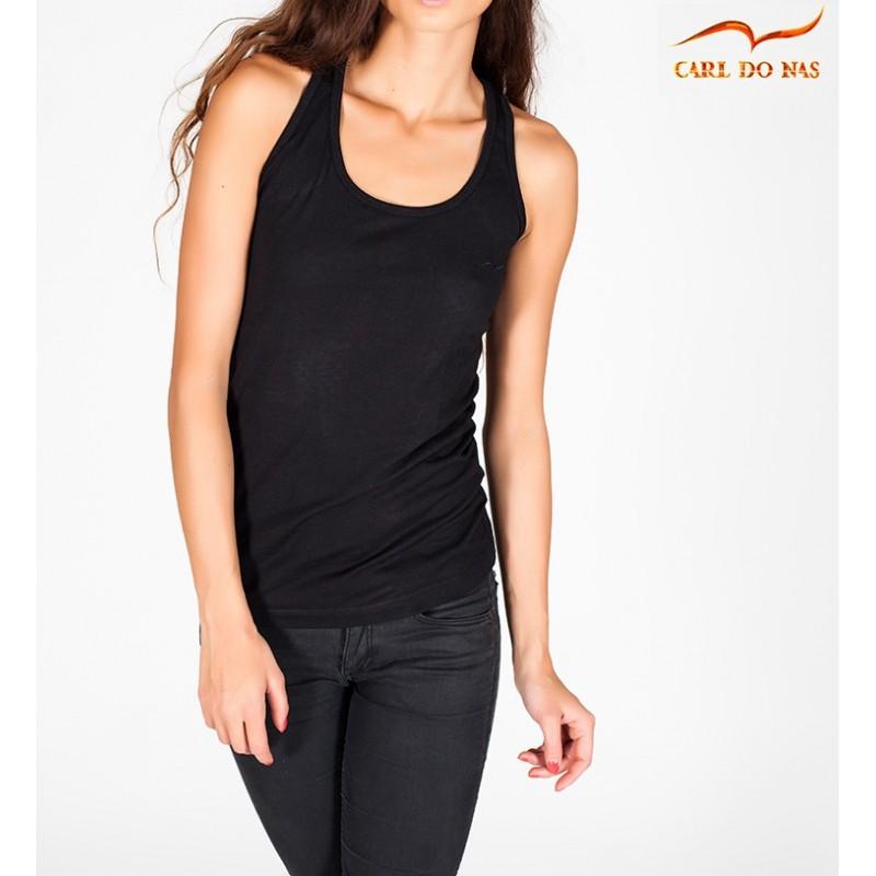 42bbe4b10 Camisola de alças mulher preta de CARL DO NAS Cor Black Size XS