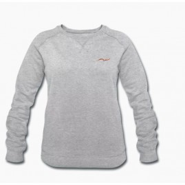 Sweat-shirt gris chiné bio...