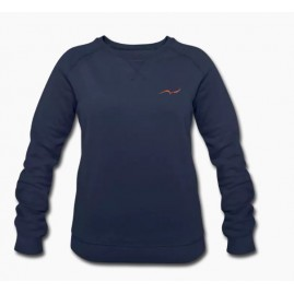 Sweat-shirt bleu marine bio...