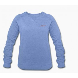 Sweat-shirt bleu clair...