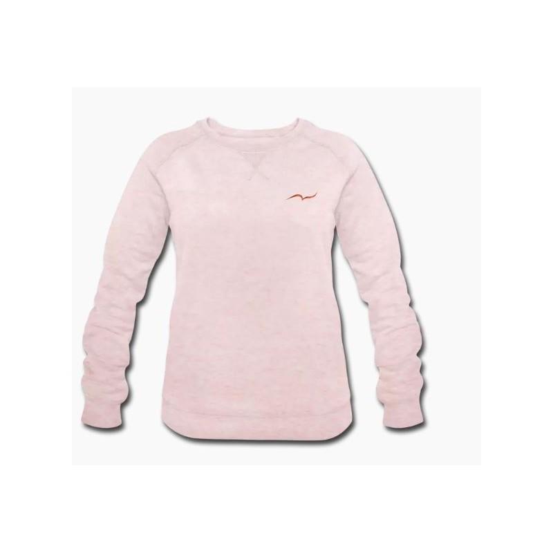 Rose Crème Couleur Shirt Taille Pour Bio S Sweat Femme PkXuZiO