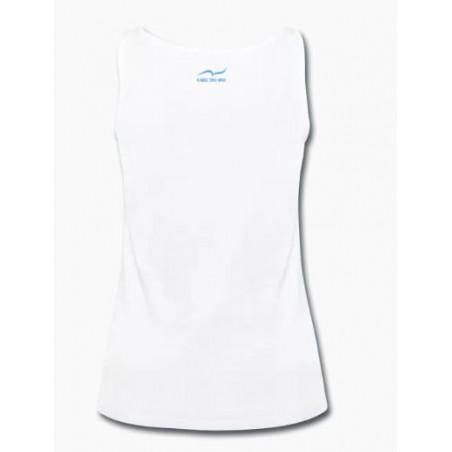88e8d95fb Camisola de alças branca de desporto para mulher de CARL DO NAS Size ...
