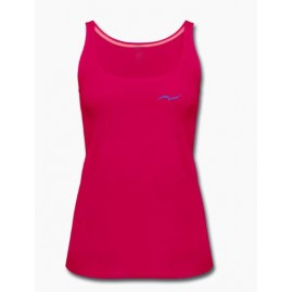 Women's fuchsia Tank Top by...