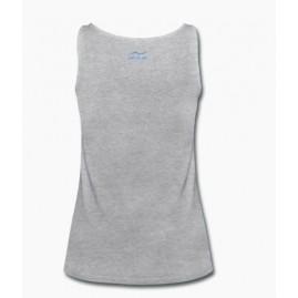1da0cb8e46adec Women s navy blue sport tank top Size S Color bleu marine Logo size ...