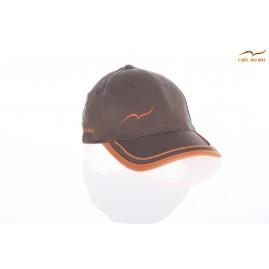 Casquette golf marron