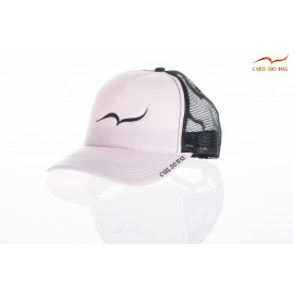 Pink french trucker cap...