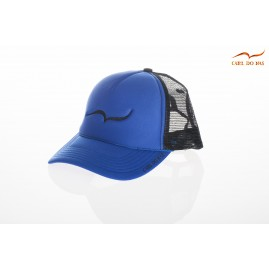 French blue trucker cap...